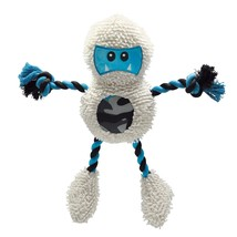 Large Dog Toys, Grriggles Yeti Nylon Tough Squeaky Cute Stuffed Dog Chew... - $32.99