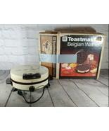 Vintage Toastmaster Belgian Waffler Model 250 with Box - $49.49
