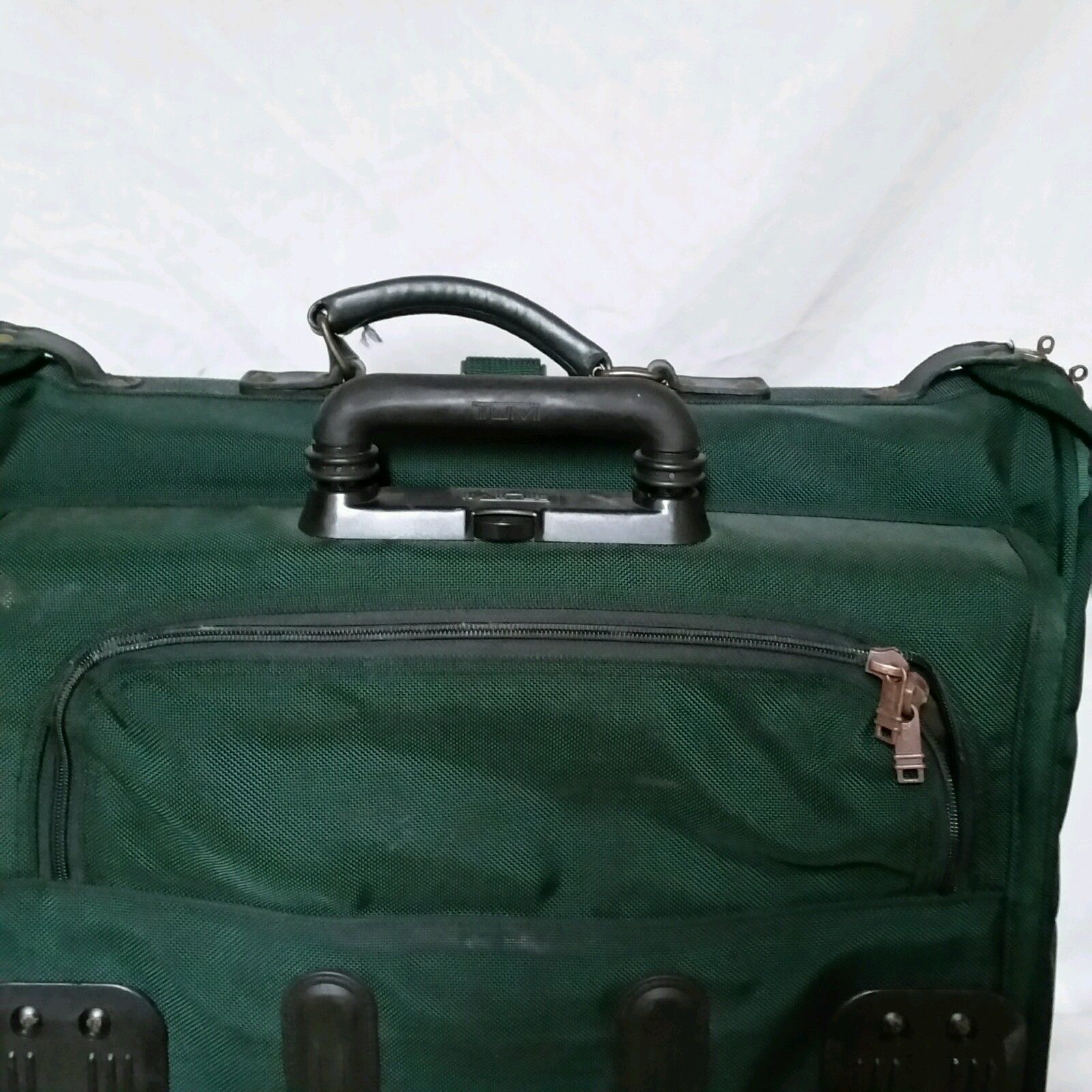 VTG Tumi Expandable Suitcase Bag Briefcase Gym Luggage Rolling Wheels Overnight