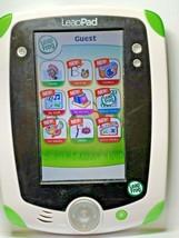LeapFrog Leap Pad Explorer Tablet & Game LeapSchool Reading Green & White - $18.69