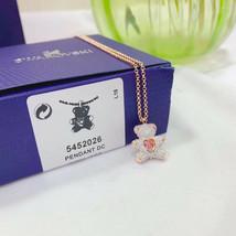 Swarovski crystal TEDDY pendant fashion Necklace jewelry gift - $41.93