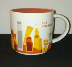 Los Angeles Starbucks Mug / You Are Here YAH / 14 Oz 2014 Coffee Tea Hom... - $29.09