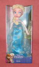 Disney Frozen Elsa Large Plush Doll. 14 inches tall. Brand New in factor... - $27.49