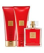 Avon Little Red Dress Parfum,Lotion,& Shower Gel Set - $24.91
