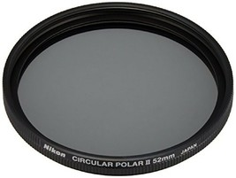 Nikon Circular Polarizing Filter II 52mm Ranging and photometry Thin and... - $82.52