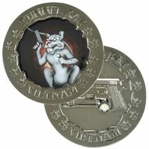 """ARMY VIETNAM TUNNEL RAT 1.75"""" CHALLENGE COIN - $16.24"""