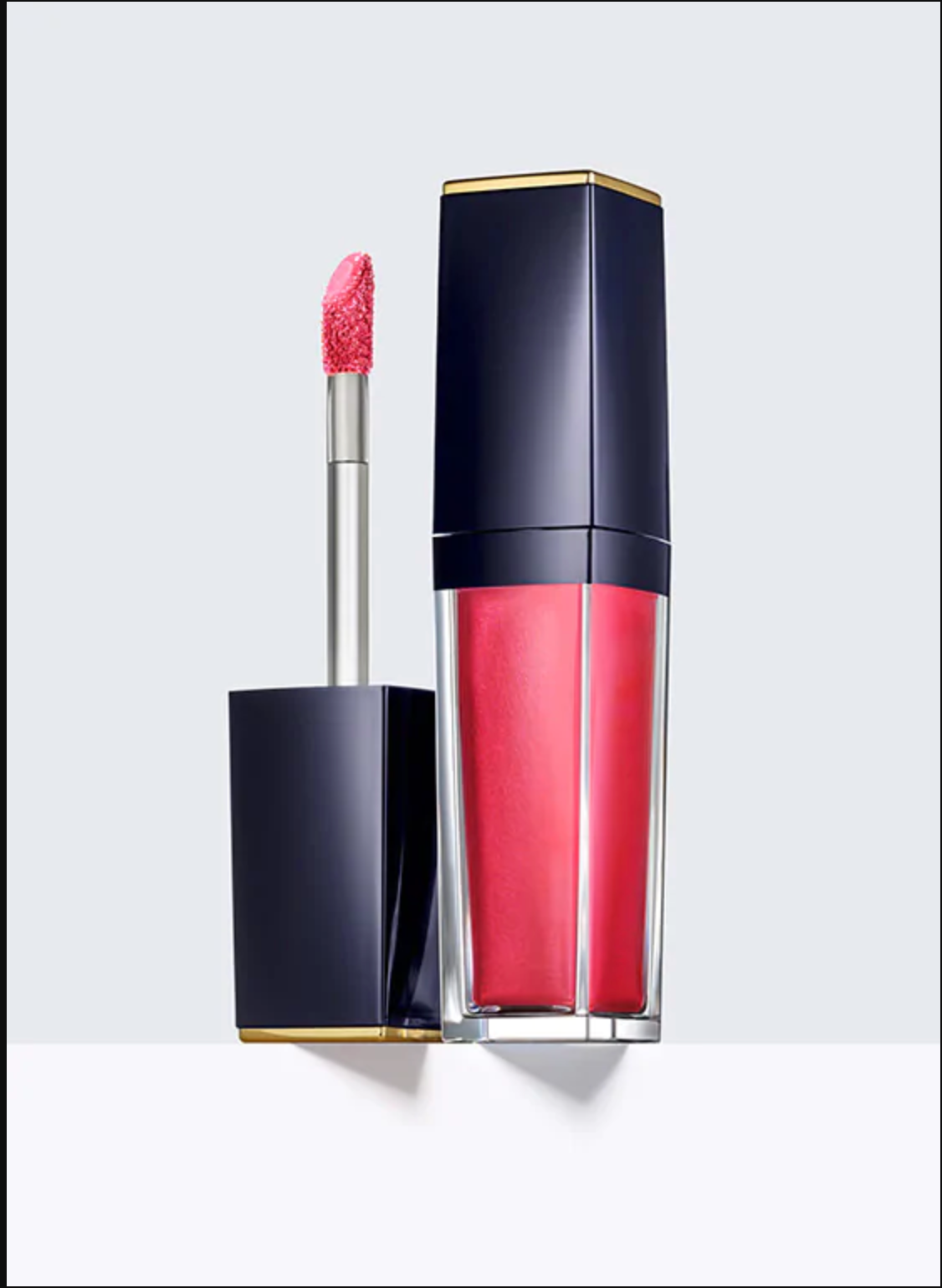Primary image for Estee Lauder Pure Color Envy Paint-on Liquid Lip 309 Metallic Glo-Coral BNIB/SDS