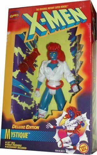 "1996 Toy Biz 10"" Action Figure - X-Men Mystique Deluxe Edition      BB"