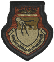 USAF School of Advance Air and Space Studies Graduat Patch- Wtih hook an... - $11.87