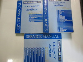 2001 Subaru Legacy Outback Restraints Body Cab HVAC Service Repair Shop Manual - $123.74