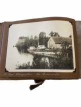Antique Photo Book Album Boy Scouts 1914 Hotel Bellavista Chile Argentina image 5