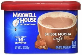 Maxwell House International Cafe Suisse Mocha Cafe 434580 7.2 oz Pack of 8 - $40.28