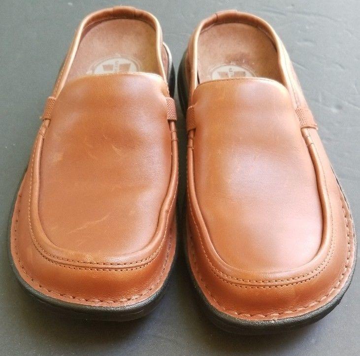 Merrell Tetra Wave Slide Open Back Clogs Shoes Loafer Brown 9