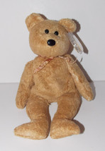 Ty Beanie Baby Cashew Plush Teddy Bear 8in Stuffed Animal Retired with T... - $3.99