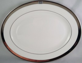 "Lenox china Jewel platinum oval serving platter ( 13"" )  - $50.00"