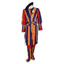 1791's lady Men's Carnival Switzerland Soldiers Swiss Guard Uniform Cosp... - $118.70
