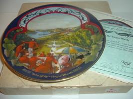 Tales of the Vienna Woods Waltzes Johann Strauss Plate w/ Box and COA - $18.99