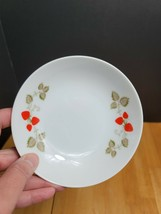 Noritake Casual China Berry Time Fruit Bowl White Red Strawberries - $6.19
