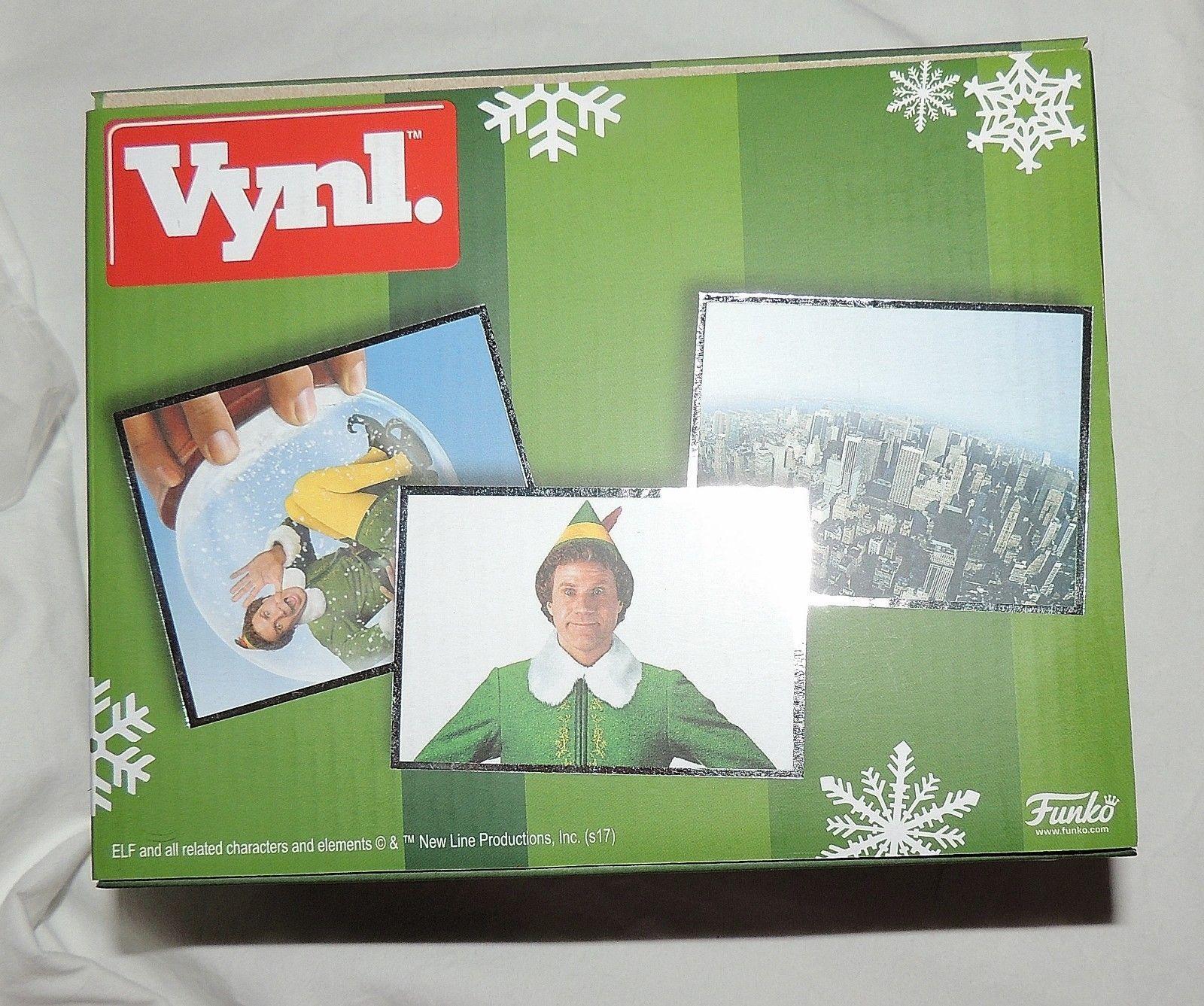 Nouveau Funko Elfe Pot Narwhal Vinyle de Collection Noël Vynl S Ferrell 2 Pièces