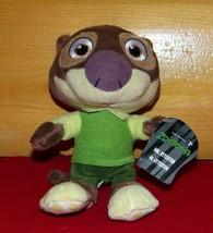 """Disney ZOOTOPIA Plush 7"""" Mr Otterton Looking Good in Green & Ready to Tr... - $6.59"""