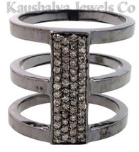 Victorian 1.12ct Rose Cut Diamond Wedding Women's Ring Thanks Giving Day - $311.92