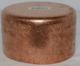 Nibco 617 4  Wrot Copper End Cap Four Inches By Two Plus Inch image 2