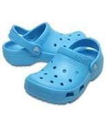NWT Crocs Kids Coast Clog Electric Blue sz 9 (Toddler, Child) Slip On Sa... - $23.00