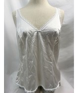 Warner's Perfect Measure 55200 White Bow Camisole, Womens Size 36 - $9.49