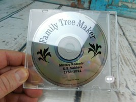 Family Tree Maker Military Records U.S. Soldiers 1784-1811 (Disc Only) - $5.93