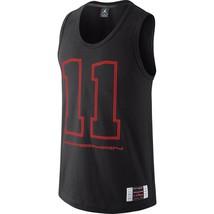 Jordan AJXI Men's Sleevless Shirt Black-Infrared 612939-010 - $27.97