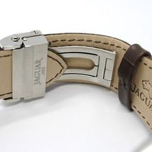 JAGUAR WATCH, SWISS MADE, SAPPHIRE CRYSTAL, 44 MM CASE, BEIGE, BROWN WITH DATE image 4
