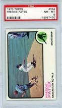 1973 Topps Freddie Patek #334 PSA 8 P691 - $10.70