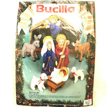 Bucilla Nativity Set Of 9 1991 82958 - $86.12