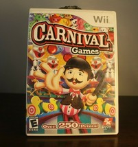 Carnival Games (Nintendo Wii, 2007) great condition complete game With P... - $8.85