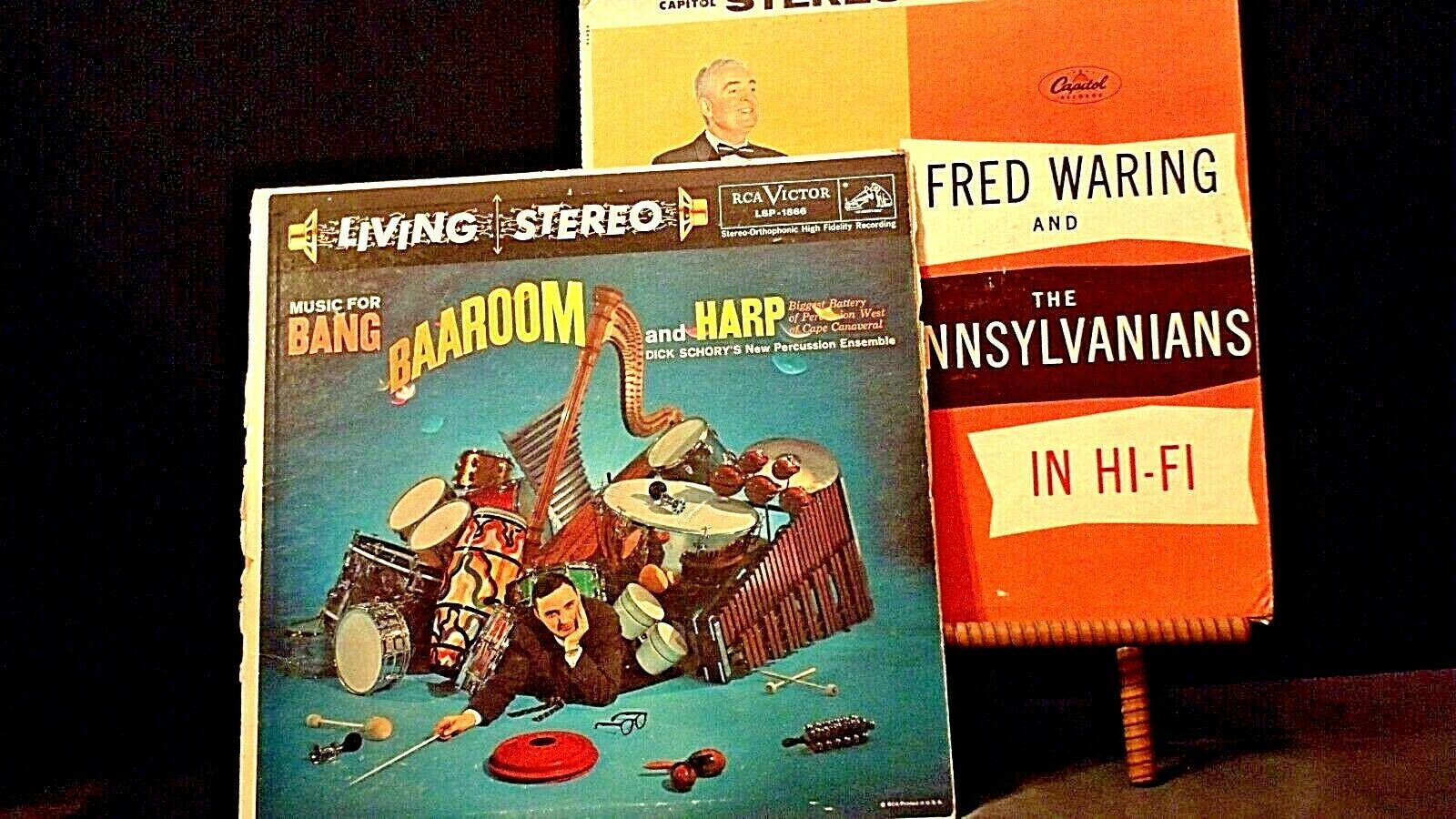 Fred Waring Pennsylvanians The Room in Hi-Fi Harp Dick Schory New Percussion Ens