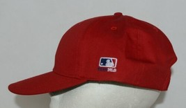 OC Sports Official License of MLB OSFM Style 808 Dark Red Adjustable image 2