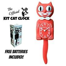 """Vivente Corallo Kit Gatto Orologio 15.5 """" Gratis Batteria in Ua Kit-Cat ... - £48.31 GBP"""