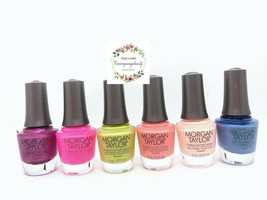 Gelish Morgan Taylor Nail Polish Feel The Vibes Collection Summer 2021 N... - $8.90+