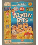 2001 MT Cereal Box POST Alpha-Bits ARTHUR [Y156a7] - $21.12