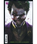 DCeased #4 2019 Francisco Mattina Joker Card Stock Variant Issue - $9.49