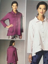 Butterick Sewing Pattern 6325 Misses/Ladies Shirt Size XS-M New - $16.76