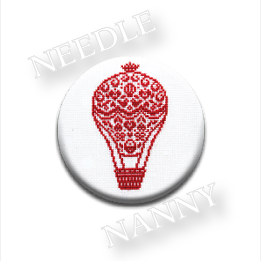 Le Balloon Needle Nanny cross stitch JBW Designs