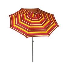 Bliss Hammocks UMB-360 Patio Umbrella with Tilt, Sun Stripes, 9 Feet - $53.02
