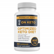 On Keto Optimized BHB Salts - Exogenous Ketones Proprietary Complex 60 Capsules - $96.99