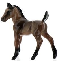 Hagen-Renaker Miniature Ceramic Horse Figurine Wild Mustang Colt Bay image 7