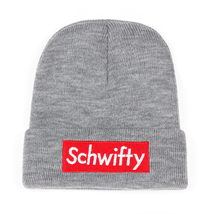 Rick and Morty Schwifty Classical Language Warm Beanie Embroidery Skiing - $9.99