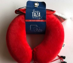 Love Taza Travel Comfort Set Family Collection Memory Foam Neck Pillow a... - $12.86