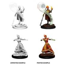 D&D Fire Genasi Female Wizard Nolzur's Miniatures Dungeons & Dragons WZK73336 - $8.99