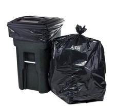ToughBag 65 Gallon Trash Bags for Toter (Black, 100 Garbage Bags Per Case) - $46.74
