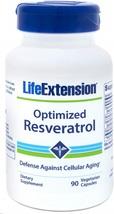 Life Extension Optimized Resveratrol, 90 Vegetarian Capsules - $135.40